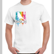 Finch Colour Rainbow Gildan Tee