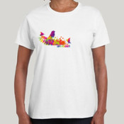Love Finches Gildan WomansUltra Cotton Tee