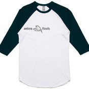 Zebra Flight Text Raglan Tee
